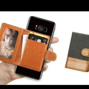 New Universal Leather Cellphone ID Case